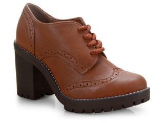 Sapato Feminino Via Marte 19-5901 Wisky - Tamanho Médio