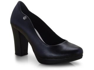 Sapato Feminino Via Marte 19-1952 Preto - Tamanho Médio