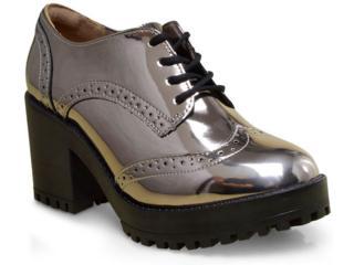 Sapato Feminino Via Marte 17-6499 Prata Velho - Tamanho Médio