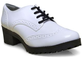 Sapato Feminino Via Marte 17-1599 Branco - Tamanho Médio