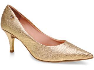 Sapato Feminino Vizzano 1185102 Ouro - Tamanho Médio