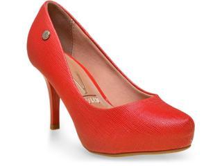 Sapato Feminino Vizzano 1781421-1 Vermelho - Tamanho Médio
