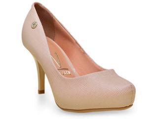 Sapato Feminino Vizzano 1781421 Bege - Tamanho Médio