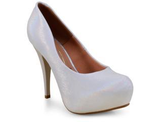 Sapato Feminino Vizzano 1143309 Prata - Tamanho Médio