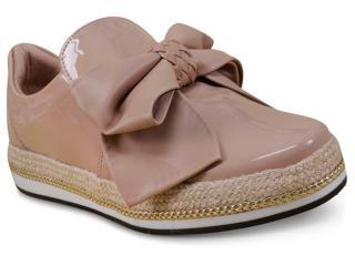 Sapato Feminino Vizzano 1273101 Bege - Tamanho Médio