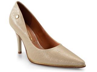 Sapato Feminino Vizzano 1267100 Dourado - Tamanho Médio