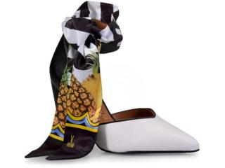 Sapato Feminino Vizzano 1264106 Branco/preto - Tamanho Médio