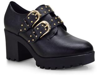 Sapato Feminino Vizzano 1294102 Preto - Tamanho Médio