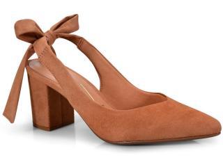 Sapato Feminino Vizzano 1290407 Camel - Tamanho Médio