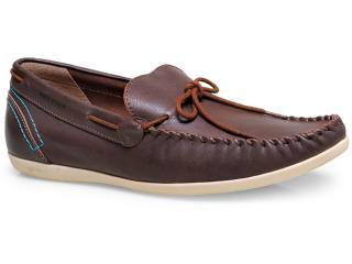Sapato Masculino West Coast 117101/1 Chocolate - Tamanho Médio