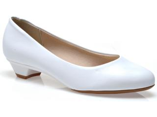 Sapato Feminino Beira Rio 4099100 Branco - Tamanho Médio