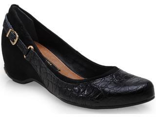 Sapato Feminino Cravo e Canela 99602/3 Preto - Tamanho Médio