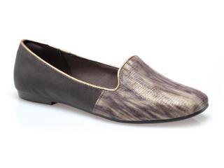 Sapato Feminino Dakota 5491 Natural/café - Tamanho Médio