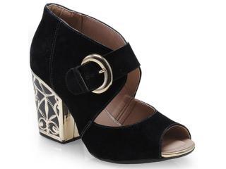 Sapato Feminino Dakota 5664 Preto - Tamanho Médio