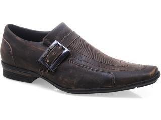 Sapato Masculino Ferracini 4652 Araguari Café - Tamanho Médio
