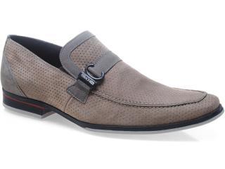 Sapato Masculino Ferracini 3100 Jet Rato/cinza - Tamanho Médio