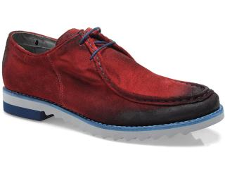 b4e2bdd21 Sapato Ferracini 4480 TRACKER Vermelho Comprar na Loja...