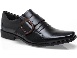 Sapato Masculino Ferracini 3836 Arcos Preto - Tamanho Médio
