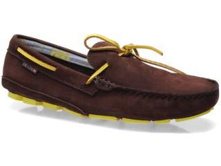 Sapato Masculino Ferracini 2541 Juquehy Café - Tamanho Médio