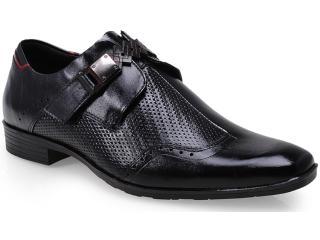 Sapato Masculino Ferracini 5281 Capri Preto - Tamanho Médio