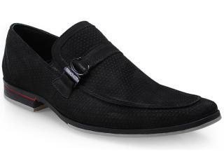 Sapato Masculino Ferracini 3100 Jet Preto - Tamanho Médio