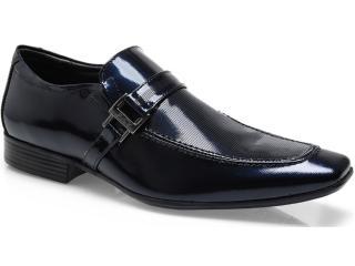 Sapato Masculino Jota pe 12653 Azul - Tamanho Médio