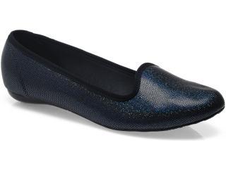 Sapato Feminino Moleca 5007250 Multi/preto - Tamanho Médio