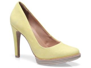 Sapato Feminino Ramarim 13-23201 Amarelo/amendoa - Tamanho Médio