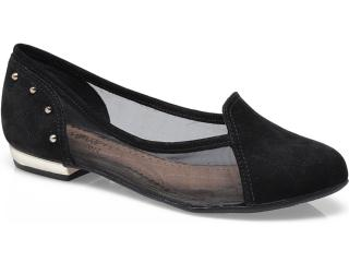 Sapato Feminino Ramarim 13-85202 Onca/preto/ouro - Tamanho Médio