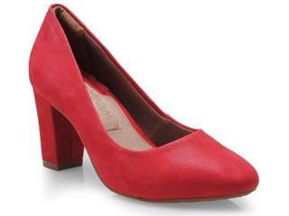 Sapato Feminino Ramarim 14-94101 Vermelho - Tamanho Médio
