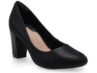 Sapato Feminino Ramarim 14-94101 Preto - Tamanho Médio