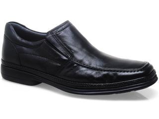 Sapato Masculino Sapatoterapia 21456 Preto - Tamanho Médio