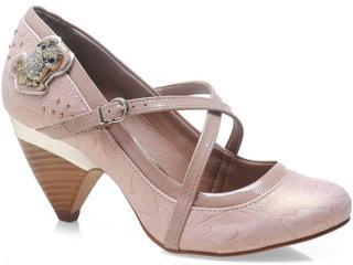 Sapato Feminino Tanara 5142 Pêssego - Tamanho Médio