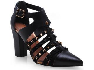 Sapato Feminino Tanara 5644 Preto - Tamanho Médio