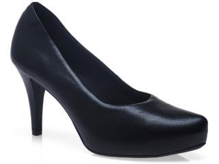 Sapato Feminino Usaflex 5013 Preto - Tamanho Médio