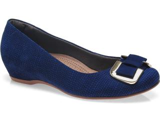 Sapato Feminino Usaflex 2208 Azul - Tamanho Médio