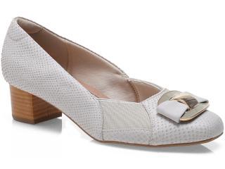 Sapato Feminino Usaflex 0212 Taupe - Tamanho Médio