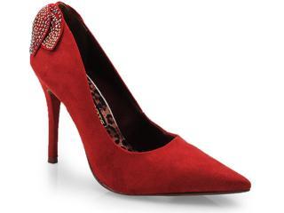 Sapato Feminino Via Marte 14-3001 Carmim - Tamanho Médio