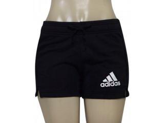 Short Feminino Adidas B45780 Ess Solid Sho Preto - Tamanho Médio