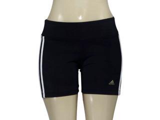 Short Feminino Adidas Ao0193 Vida Wkt w Preto/branco - Tamanho Médio