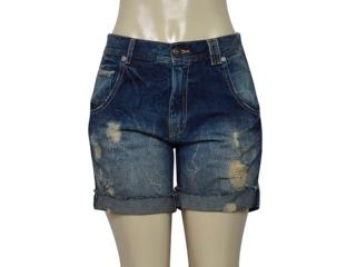 Short Feminino Cavalera Clothing 08.02.1478 Jeans - Tamanho Médio