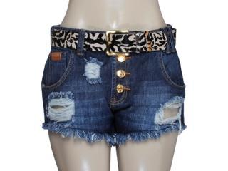 Short Feminino Coca-cola Clothing 63200683 Jeans - Tamanho Médio