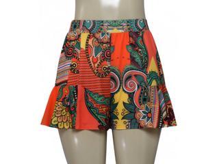 Short Feminino Coca-cola Clothing 63200873 Estampado - Tamanho Médio