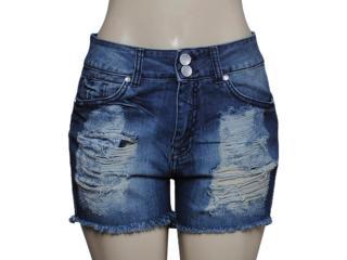 Short Feminino Dopping 013158513 Cor Jeans - Tamanho Médio