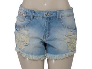Short Feminino Moikana 15868 Cor Jeans - Tamanho Médio