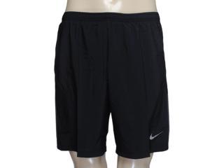 Masculino Nike 589720-010 Pursuit 2-in-1 Short Preto - Tamanho Médio