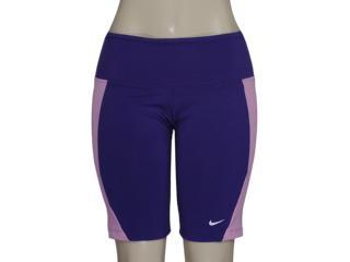 Short Feminino Nike 446155-547 Foldover Tight Roxo/rosa - Tamanho Médio