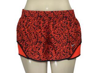 Short Feminino Nike 719763-696  Pronto Racer Vermelho/preto - Tamanho Médio