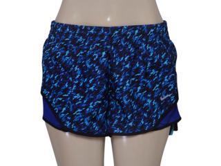 Short Feminino Nike 719763-455 Pronto Racer Roxo/azul - Tamanho Médio