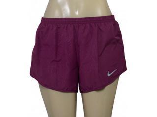 Short Feminino Nike 831281-659 nk Dry Mod Tempo Ameixa - Tamanho Médio
